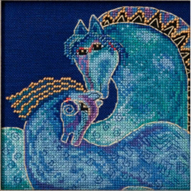 Laurel Burch 30-1711 Mediterranean Mares
