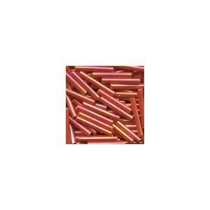 Beads 92055 Red Rainbow Bugle
