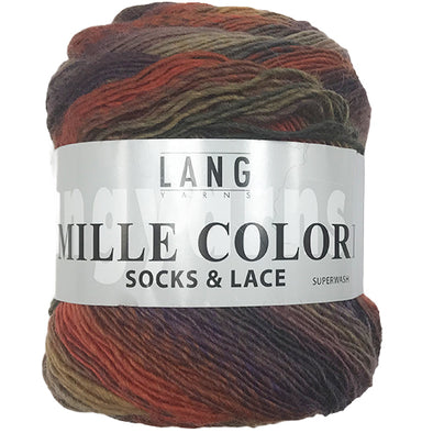 Mille Colori Socks & Lace 75 Burgundy