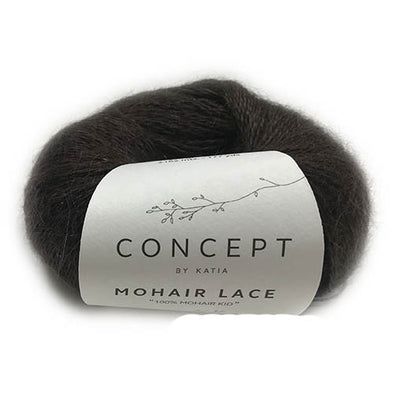 Mohair Lace 307 Chocolate