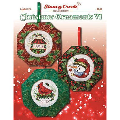 STCL378 Christmas Ornaments VI