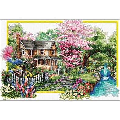 Needleart World 740.058 Spring Comes