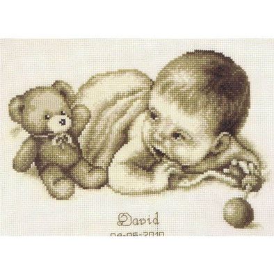 VERVACO PN0012148 Baby & Teddy Birth Record