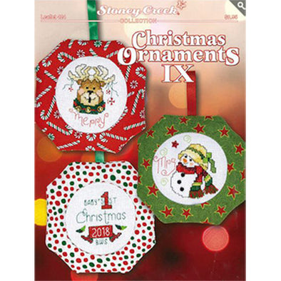 STCL424Christmas Ornament IX