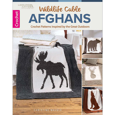 LA7230 Wildlife Cable Afghans