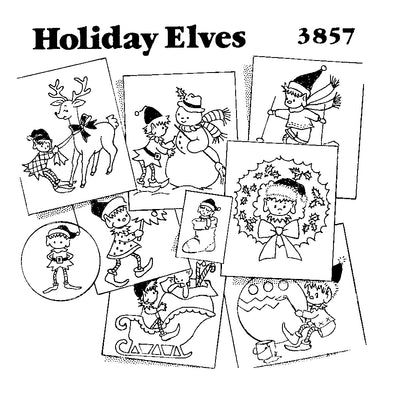 AM3857 Holiday Elves