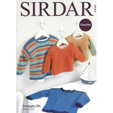 Sirdar 5202 Snuggly DK Sweaters