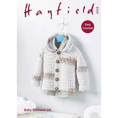 Hayfield 5232 Baby Blossom Jacket