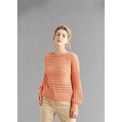Sub6131 Lacy Sweater