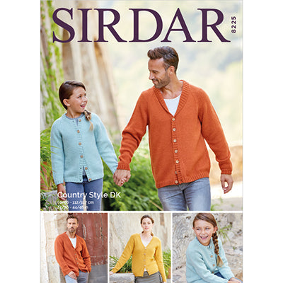 Sir8225 Country Style Cardigan
