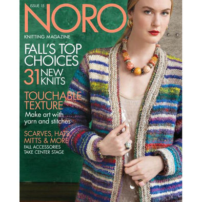 Noro Knitting Magazine S/S 19 Issue 15