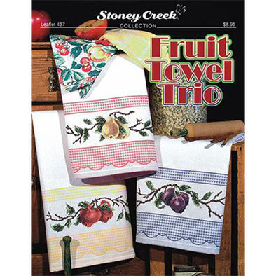 STCL437 Fruit Towel Trio