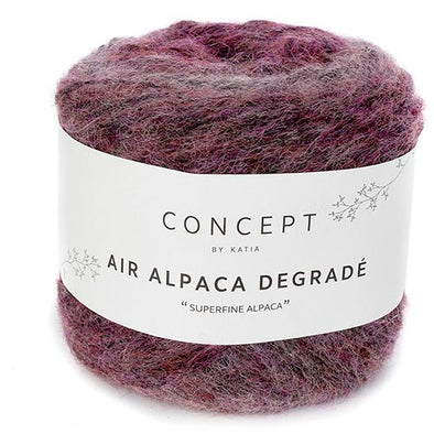 Air Alpaca Degrade 61 Rose