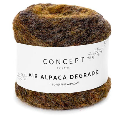 Air Alpaca Degrade 63 OchreBrw
