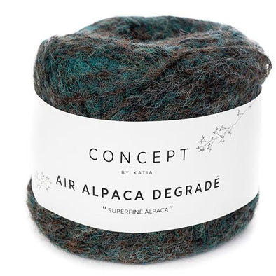 Air Alpaca Degrade 65 EmldBrn