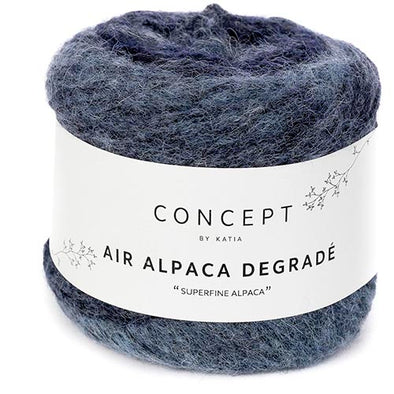 Air Alpaca Degrade 67 Blue