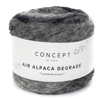 Air Alpaca Degrade 68 Grey