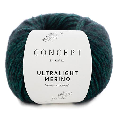 UltraLight Merino 60 GreenBlack