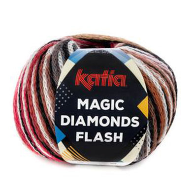Magic DiamondFl 103 BlkOfWtRdG