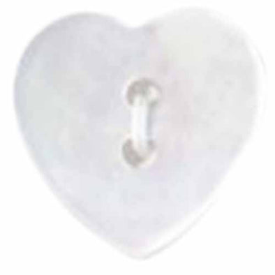 Button 057010AB Shell Heart 15