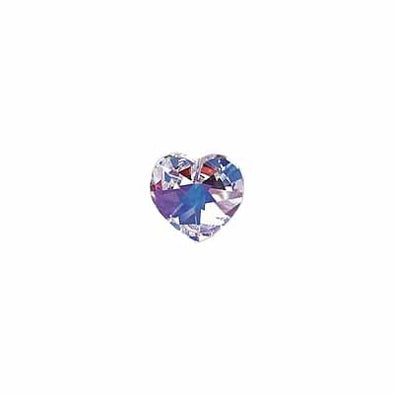 Beads 13047 Lg Heart - crystal