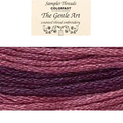 Sampler Threads 0860 Red Plum