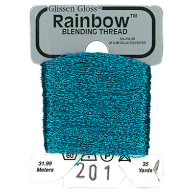 Rainbow 201 Teal Blue