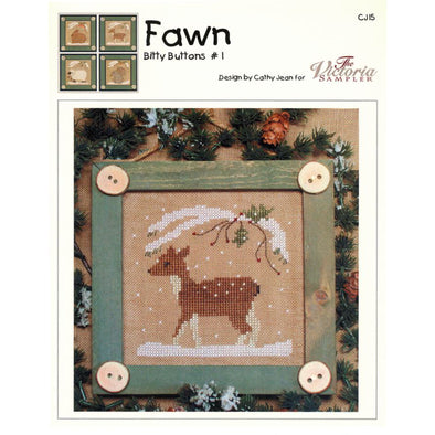 Victoria Sampler CJ15 Bitty Buttons #1 Fawn