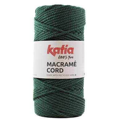 Macrame Cord 108 Bottle Green