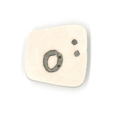 Just Another Button Company 0400.O  Letter O