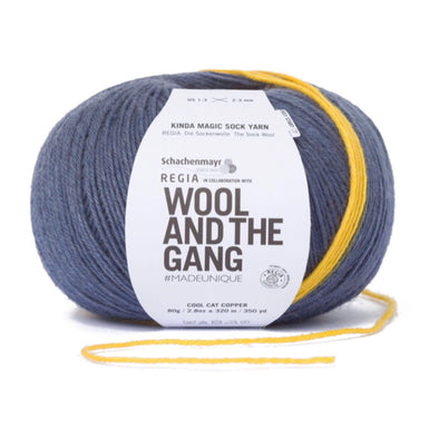 Regia Wool and the Gang - 6456 Cool Cat Copper