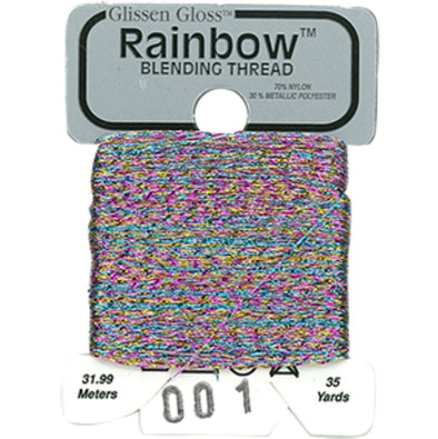 Rainbow 001 Multi White