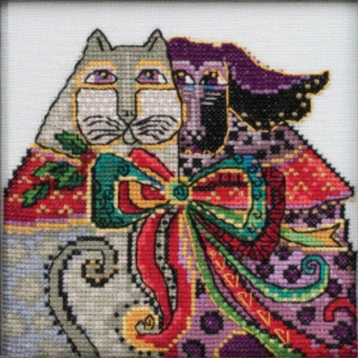 Laurel Burch 30-2014 Christmas Cat & Dog