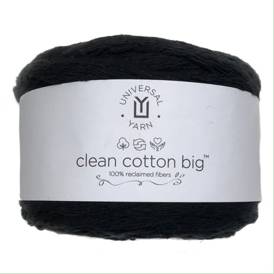 Clean Cotton Big 108 Ebony