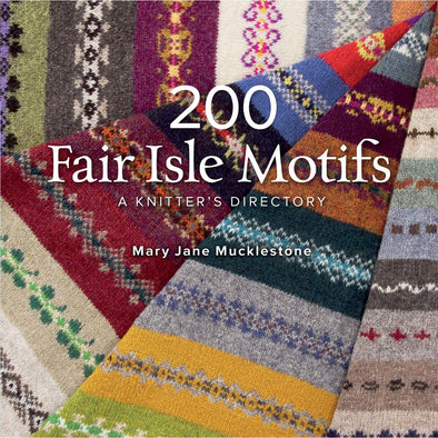 Interweave Press 200 Fair Isle Motifs