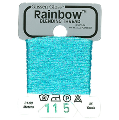 Rainbow 115 Irid.Pale Blue