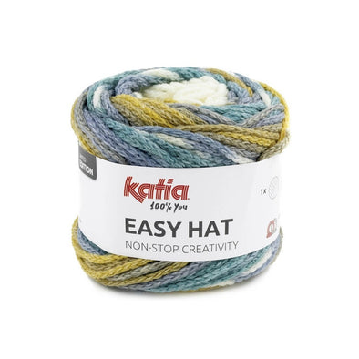 Easy Hat 502 Ochre-Turquose