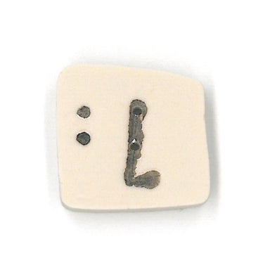 Just Another Button Company 0400.L Letter L