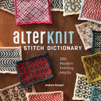 Interweave Press 17KN03 Alterknit Stitch Dictionary
