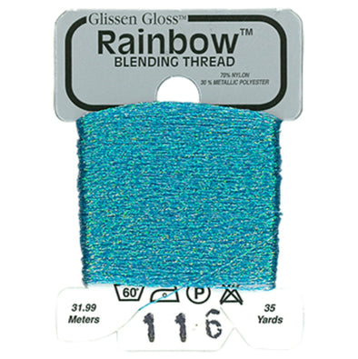 Rainbow 116 Iridescent Blue