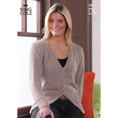King Cole 2856 Cotton DK Sweater