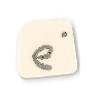 Just Another Button Company 0400.e  Letter e