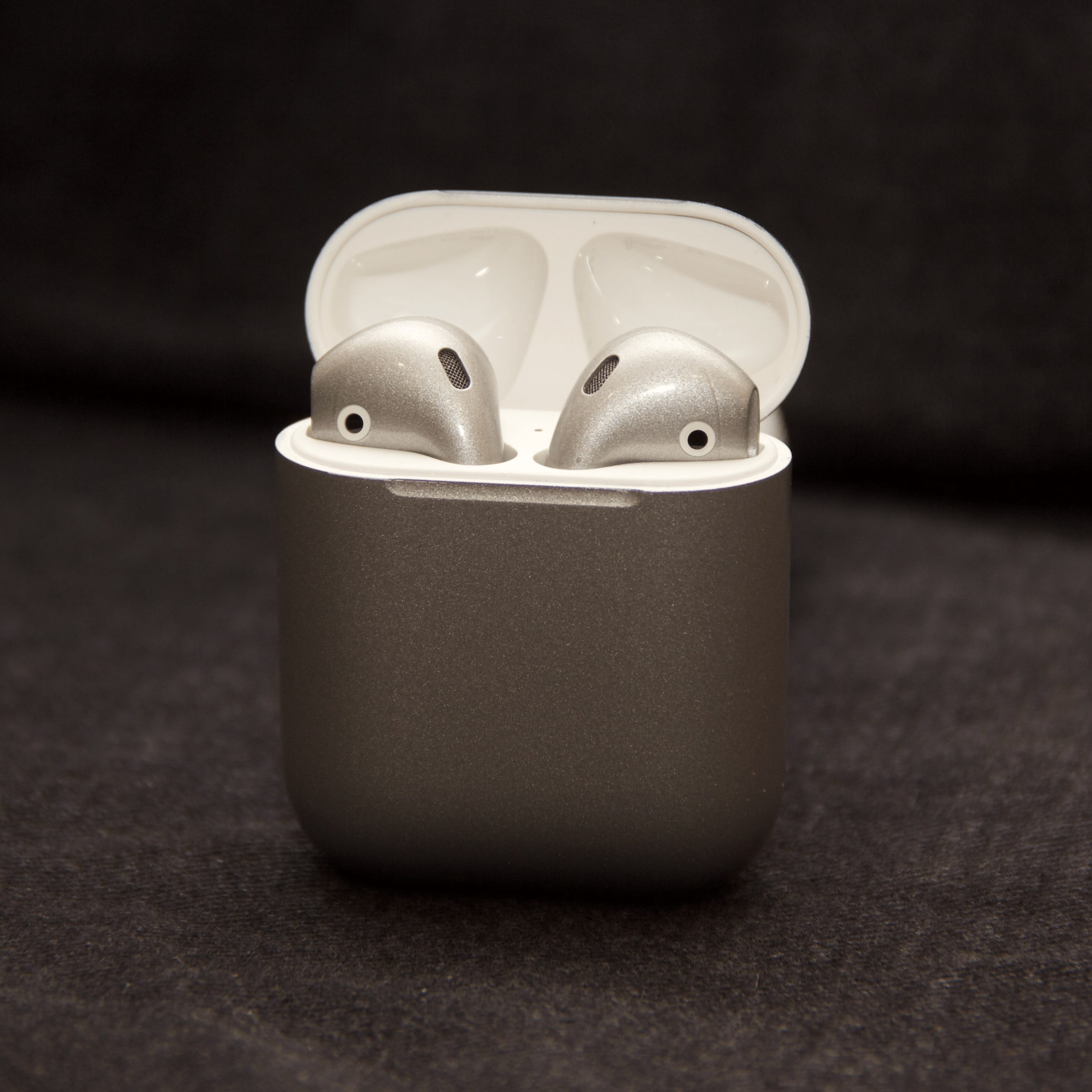 BlackPods Aero Space Gray Apple AirPods