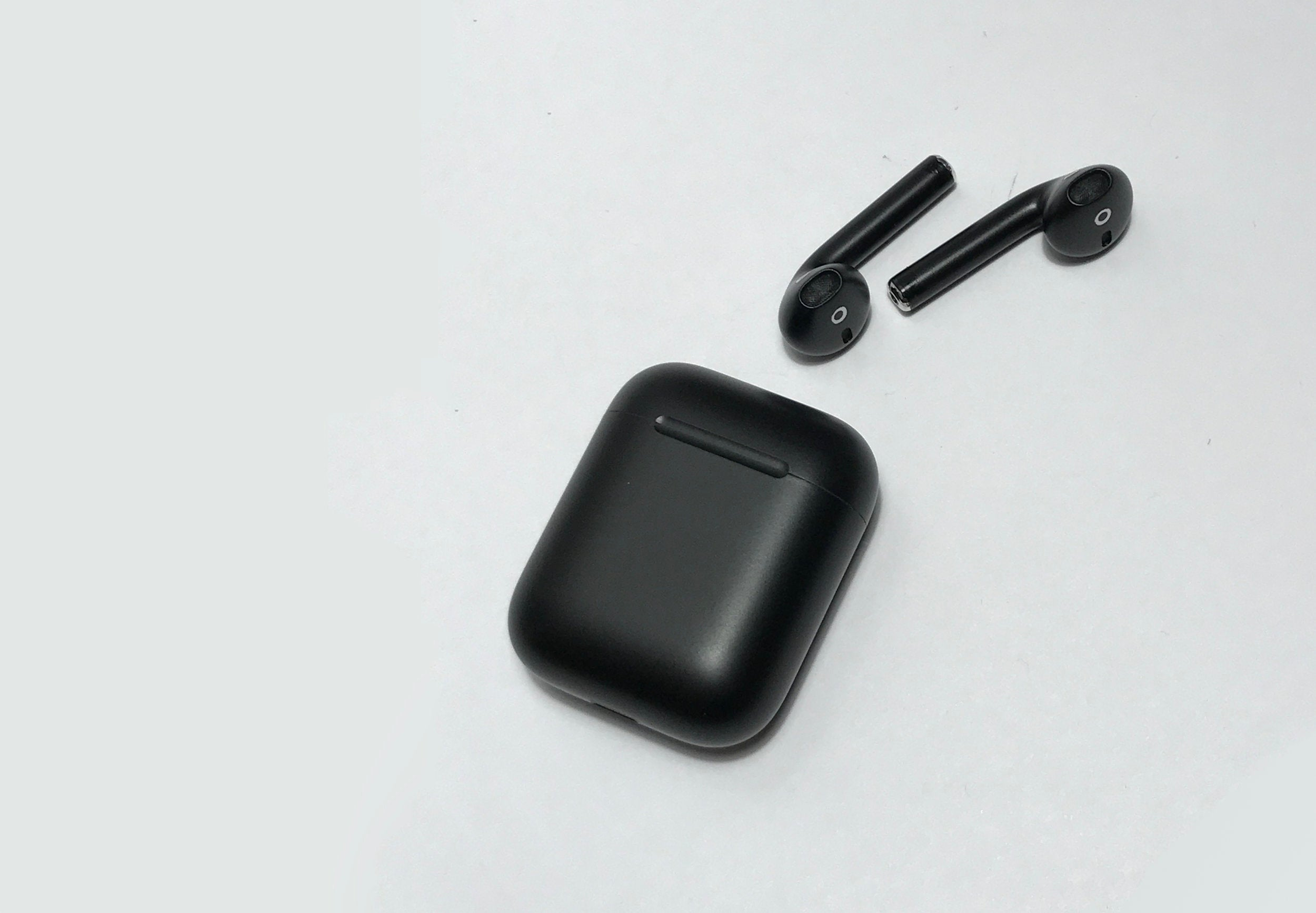 BlackPods Stealth Matte Black Apple AirPods