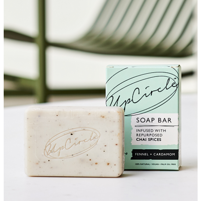 UpCircle Chai Soap Bar Fennel & Cardamom 100g