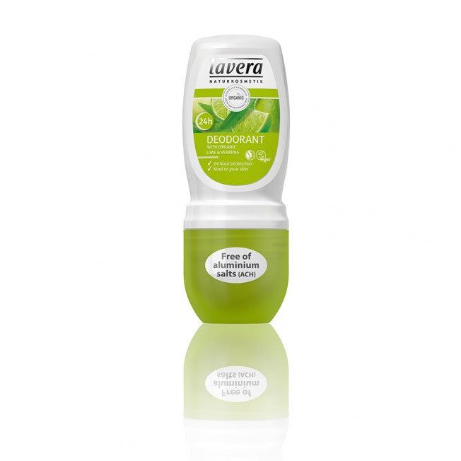 Lavera Deodorantti Body & Wellness Care Gentle Roll-On Lime 50ml