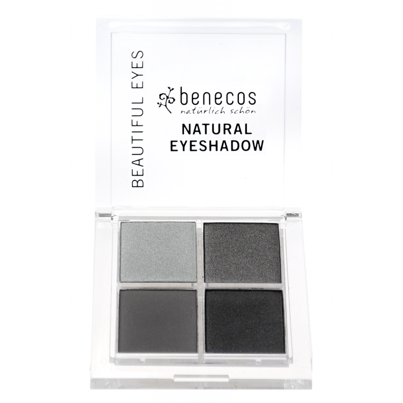 BENECOS NATURAL QUATTRO EYESHADOW, SMOKEY EYES LUOMIVÄRI