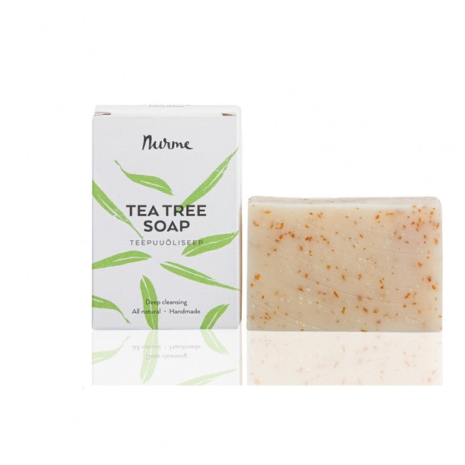 Nurme Tea Tree Soap - Teepuuöljysaippua 100g