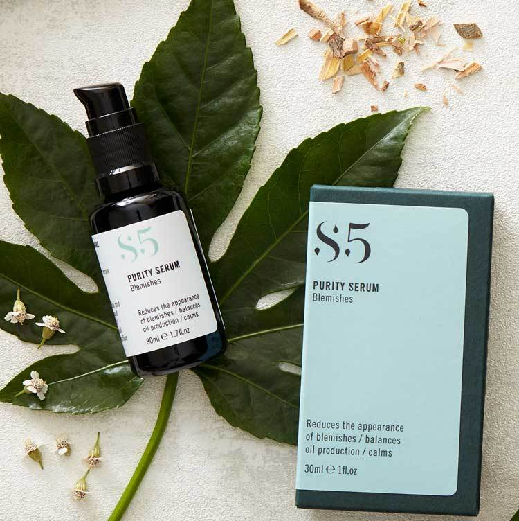 S5 Skincare Purity Serum Hoitoseerumi mustapäille 30ml