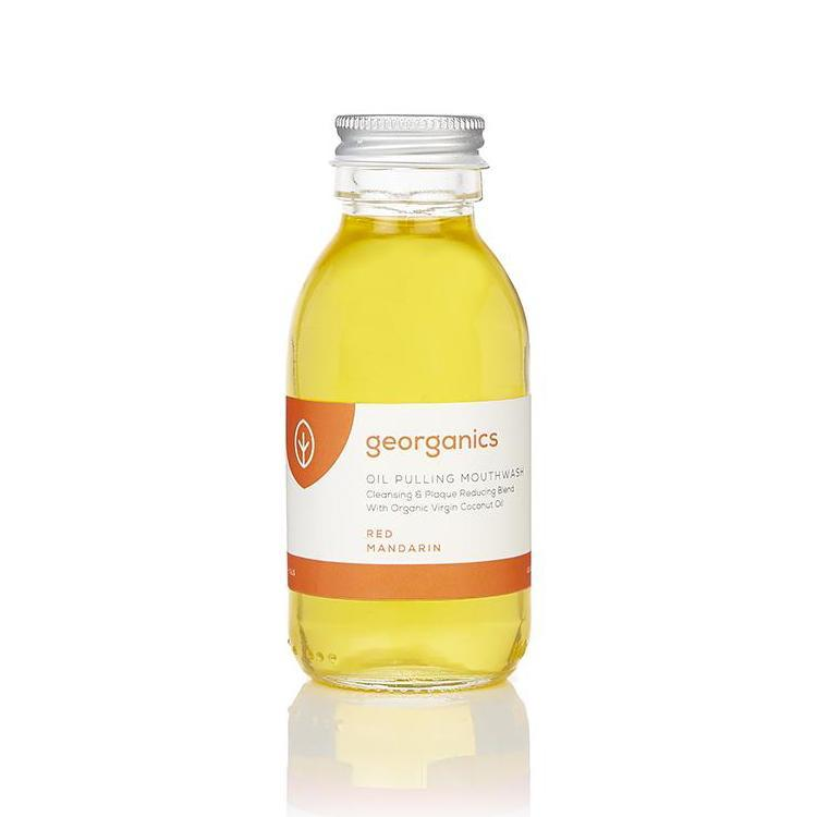 Georganics Red Mandarin Oil Pulling Mouthwash 100ml